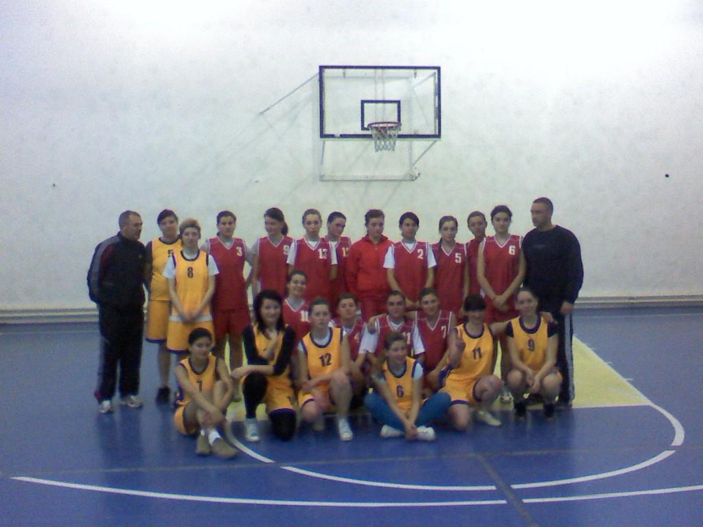 Echipa liceu - Fete