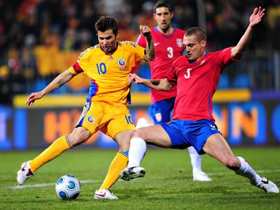 România - Serbia - Preliminariile CM 2010