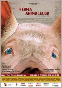 Ferma animalelor afiș