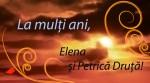La mulți ani, Elena și Petrică Druță!