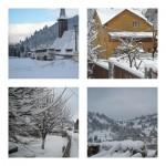 Un vis de iarnă în inima munţilor