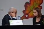 Caius Dobrescu şi Ion Vianu în dialog deschis cu elevii